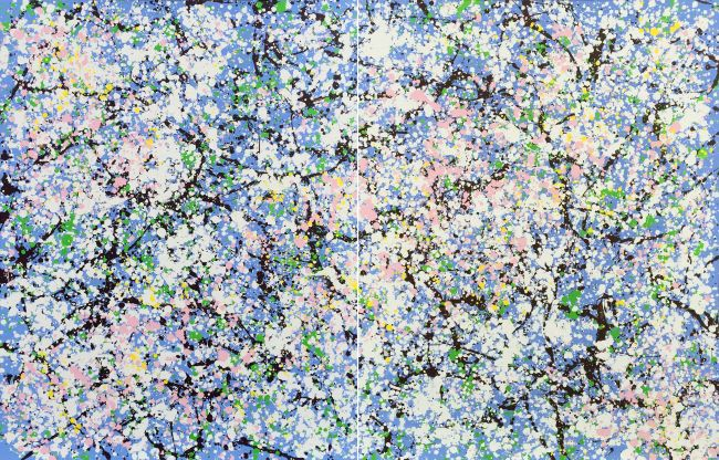 Rite of Spring #20 (diptych)