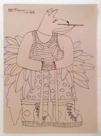 Coyote Dancer, 1981.05