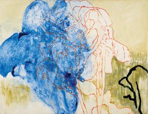 Hans Sieverding, oil on canvas